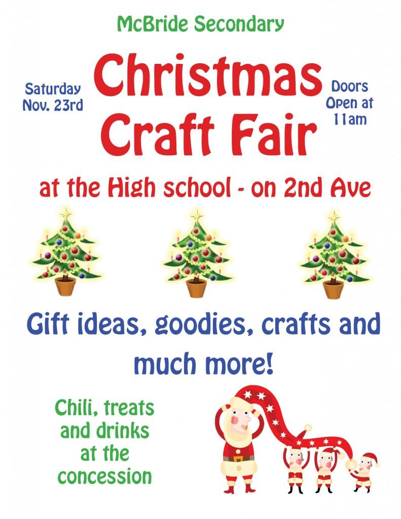 McBride Christmas Craft Fair