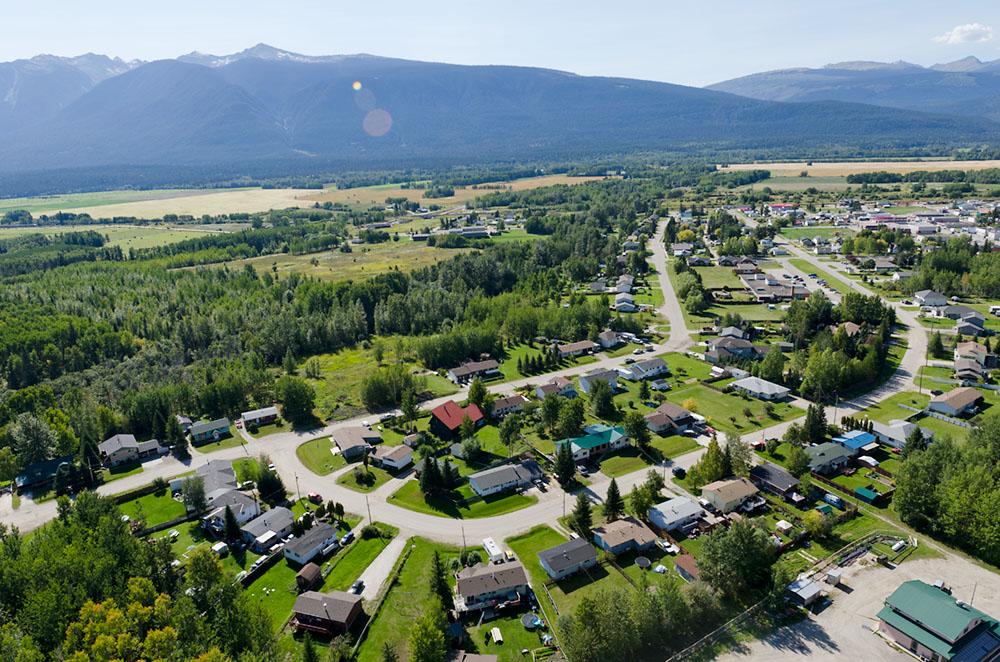 Air Photos The Robson Valley B C
