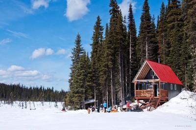 Pine Lake cabin on Bell Mountain