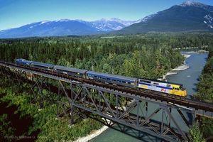 VIA Rail - Raush River Bridge
